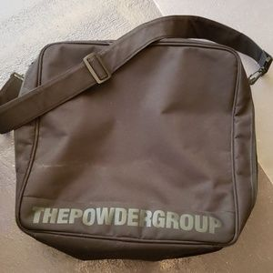 The Powder Group Black Travel Carry Duffle Bag